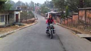 3. New Royal enfield classic 500 (Bullet C5 Military) at Dharan,Nepal