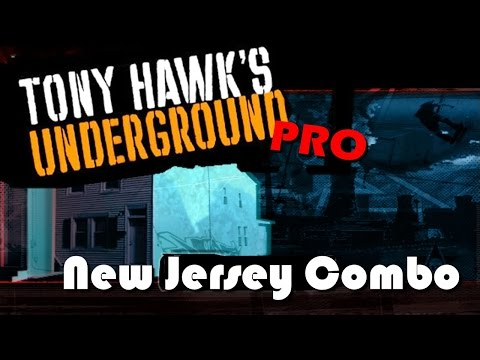 Tony Hawk Underground Pro: New Jersey Combo