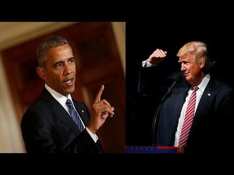 Ομπάμα: «Ο Τραμπ είναι τρομερά απροετοίμαστος για να γίνει Πρόεδρος»