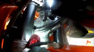 6. 2002 KTM 640 Adventure Oil Change Proceedure