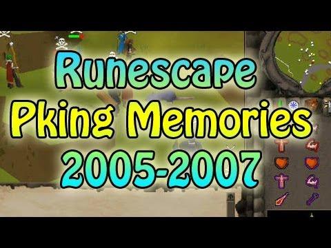 Runescape Pking Memories (2005-2007) - Edgeville   East Varrock   Hill Giants (видео)