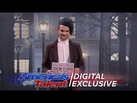 The Magnificent Magic of Colin Cloud - America's Got Talent 2017 (видео)