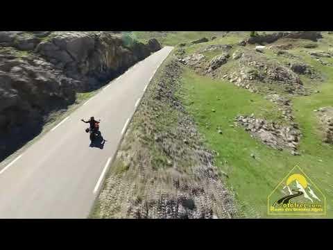 Trailer motofree route des Grandes Alpes 2020