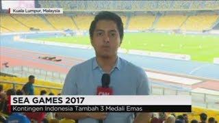 Berikut ini update dari arena SEA Games 2017 di Malaysia. Sudah ada Koresponden CNN Indonesia, Mahardika Utama langsung dari arena Sea Games 2017 Malaysia.Ikuti berita terbaru di tahun 2017 dengan kemasan internasional berbahasa Indonesia, dan jangan ketinggalan breaking news 2017 dengan berita terakhir dan live report CNN Indonesia di https://www.cnnindonesia.com dan channel CNN Indonesia di Transvision. Follow & Mention Twitter kami :@myTranstweet@cnniddaily@cnnidconnected @cnnidinsight @cnnindonesia Like & Follow Facebook:CNN IndonesiaFollow IG: cnnindonesia