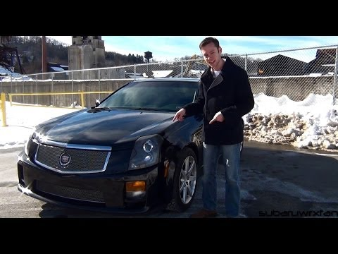 Review: 2004 Cadillac CTS-V