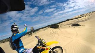 Beachport Australia  City new picture : Gopro movie riding at Robe SA