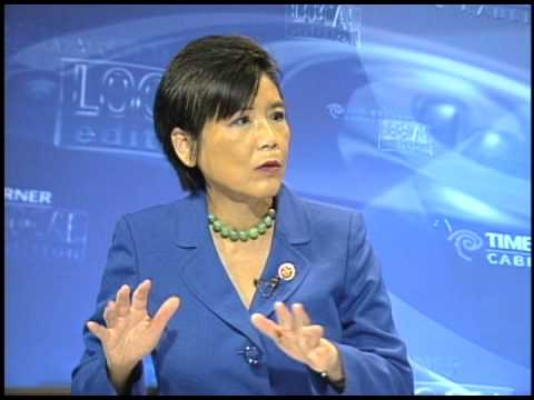 United States Congress - Congress Member Judy Chu talks to Time Warner Cable Local Edition host, Brad Pomerance, about the current mood in Congress, among other topics. February 2013.