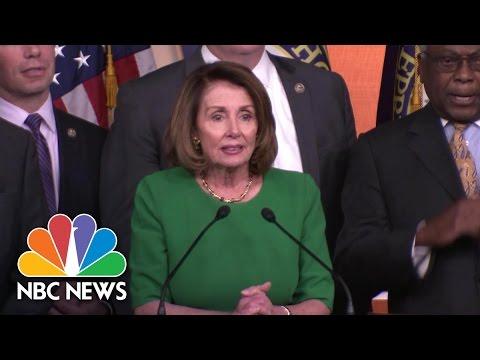 Nancy Pelosi Proclaims 'Victory' After GOP Pulls Health Care Bill | NBC News
