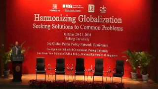 Harmonizing Globalization - Seeking Solutions To Common Problems: Day One - Pt 1