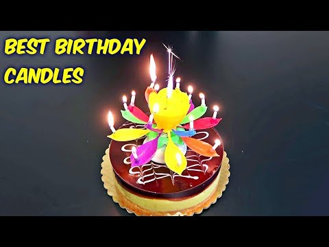Most Advanced Birthday Candles