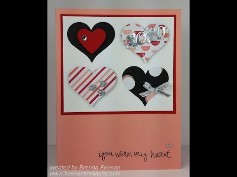 Quick and Easy Stampin' Up! Valentine Card
