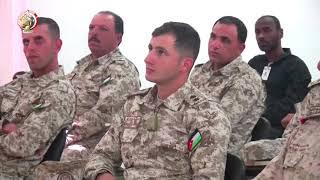 """الفريق محمد فريد يشهد المرحلة الرئيسية للتدريب المشترك """"درع العرب-1"""""""