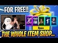 Download Lagu TFUE Reacts to ALL his SKINS he got GIFTED by STREAMERS!! - Fortnite Epic & Funny Moments Mp3 Free