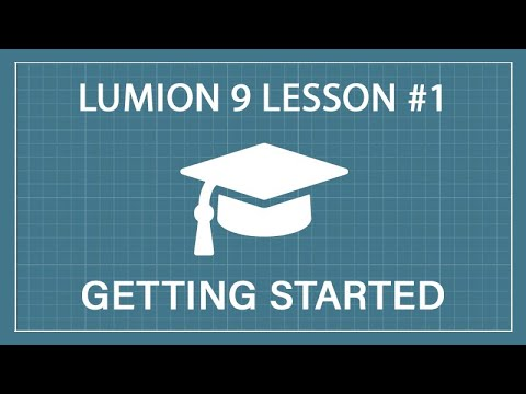 Lumion 9 Tutorial: Lesson 1 - Getting Started and Importing a Model