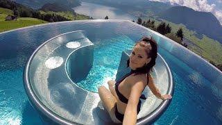 Hotel Villa Honegg on Lake Lucerne in Switzerland.
