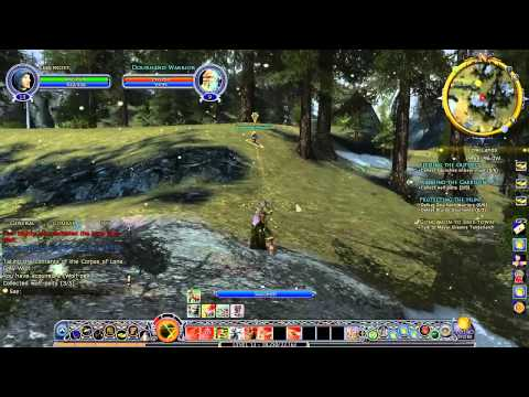 The Lord of the Rings online 2do Gameplay/Comentario en Español