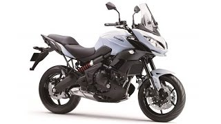 10. 2015 Kawasaki Versys 650, heavily redesigned and upgraded for 2015