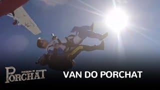 No quadro Van do Porchat, o apresentador leva uma dançarina para saltar de paraquedas. Saiba mais em http://www.r7.com/porchatFacebook: http://www.facebook.com/programadoporchatInstagram: http://www.instagram.com/pgmdoporchat
