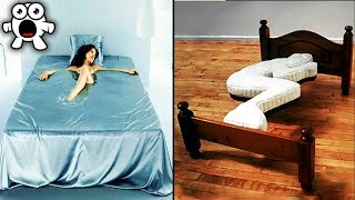 Video 30 Unusual Beds Not Only For Sleep You've Never Seen Before MP3, 3GP, MP4, WEBM, AVI, FLV Januari 2019