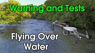 After 3 months of testing and field work some thoughts about flying drones over water. Tested both the Mavic Pro and the Phantom ...