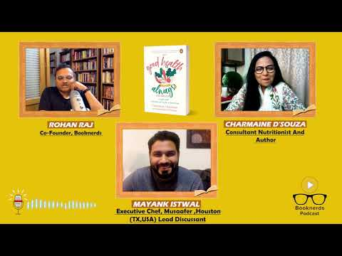 Booknerds Podcast | Good Health Always | Charmaine D ' Souza