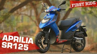 2. 2018 Aprilia SR125 - 5 Things you need to know | First Ride Review