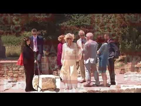 Επίσκεψη του πρίγκιπα της Ουαλίας Κάρολου στην Κνωσό