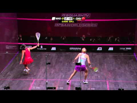 Squash : ATCO WSA 2012 World Series Finals – Final Roundup David v Massaro