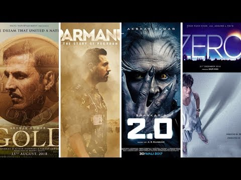 TOP 15 UPCOMING BOLLYWOOD MOVIES in  2018 With Cast and Release Date