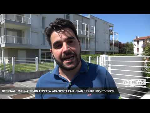 REGIONALI: RUBINATO NON ASPETTA, ACAMPORA FA IL GRAN RIFIUTO | 02/07/2020