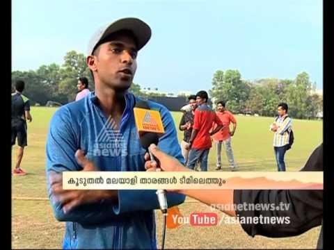 Sachin Baby Kerala Cricket Team Captain with Asianet News
