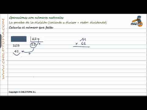 Vídeos Educativos.,Vídeos:Prueba de la división 3