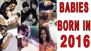 Celebs and Their Babies Born in 2016