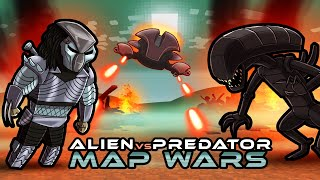 Alien vs Predator MAP WARS! (Minecraft)