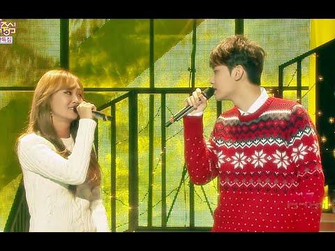 white - Music core 20141220 Hyolyn X Jooyoung - White Christmas, 효린 x 주영 - 화이트 크리스마스 *쇼! 음악중심 토요일 오후를 책임지는 음악의 힘! 대한민국 음악의...