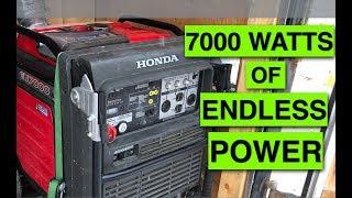 5. The BEST genny! Honda EU 7000 Generator Review