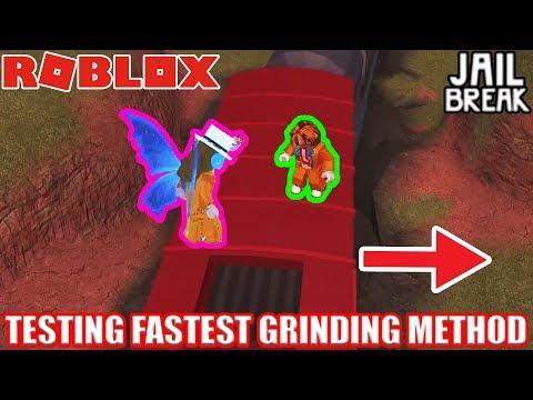 TESTING the FASTEST Grinding Method (RogueBirdie strategy) | Roblox Jailbreak