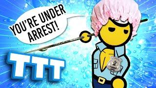 STOP! IT'S THE SHOWER POLICE! | Gmod TTT