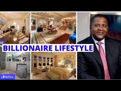 How Africa's Richest Man ALIKO DANGOTE Spends His Billion - Billionaire Lifestyle