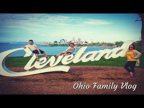 Things to do in Cleveland Ohio: Family Vlog