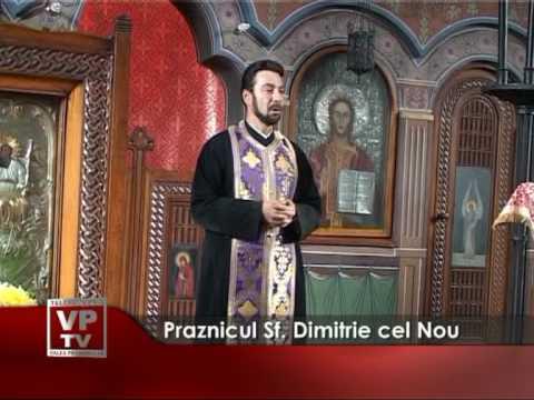 Praznicul Sf. Dimitrie cel Nou