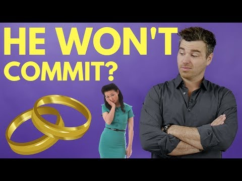 What to Do If a Guy Won't Commit to You, But Claims That He Still
