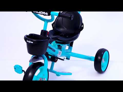 Baybee Breeze 2 in 1 Kids Tricycle Convertible Baby Tricycle Kid's Trike