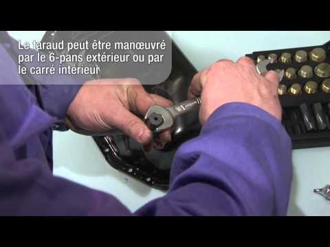 comment reparer un filetage de carter d'huile