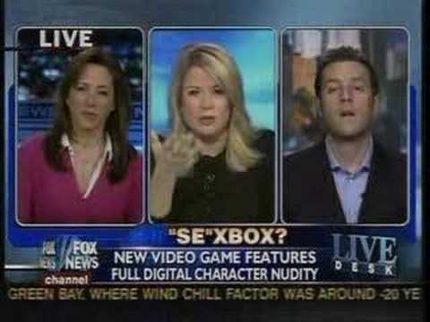 That time Geoff Keighley had to defend Mass Effect on Fox News against a woman who knew nothing about the game.