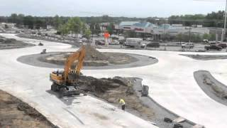 14 Mile & Orchard Lake Road construction time lapse video
