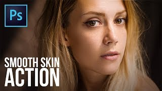 FREE Action for Super-Quick High-End Skin Softening in Photoshop
