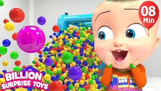 Video Lot of Surprise TOYS for Children Song  - Animation Songs for Babies MP3, 3GP, MP4, WEBM, AVI, FLV Agustus 2018