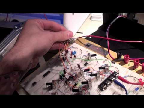 Sidechaining Mixer Module – Prelim. Test