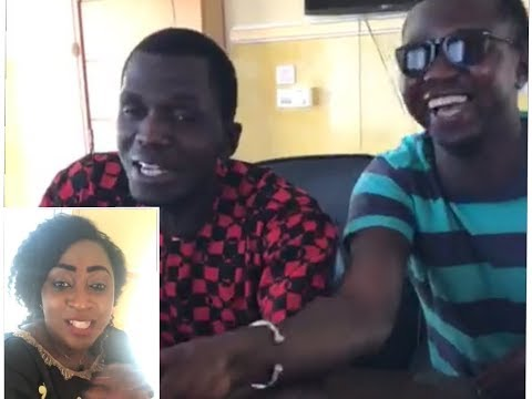 ALH BORA: GAMBIA COMEDIANS WITH KEER FATOU